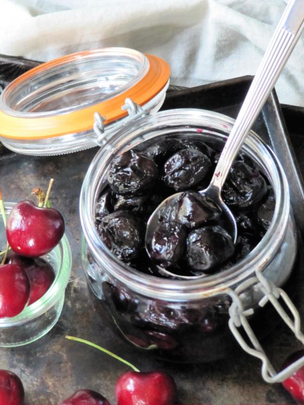 Bourbon-roasted-cherries
