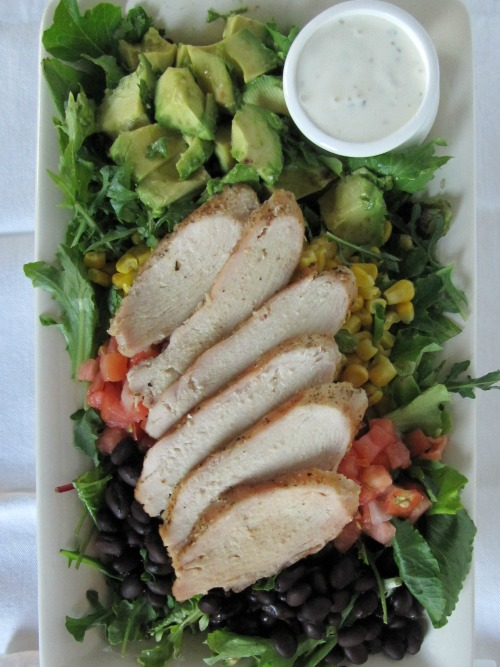 Cilantro Honey Lime Chicken Salad