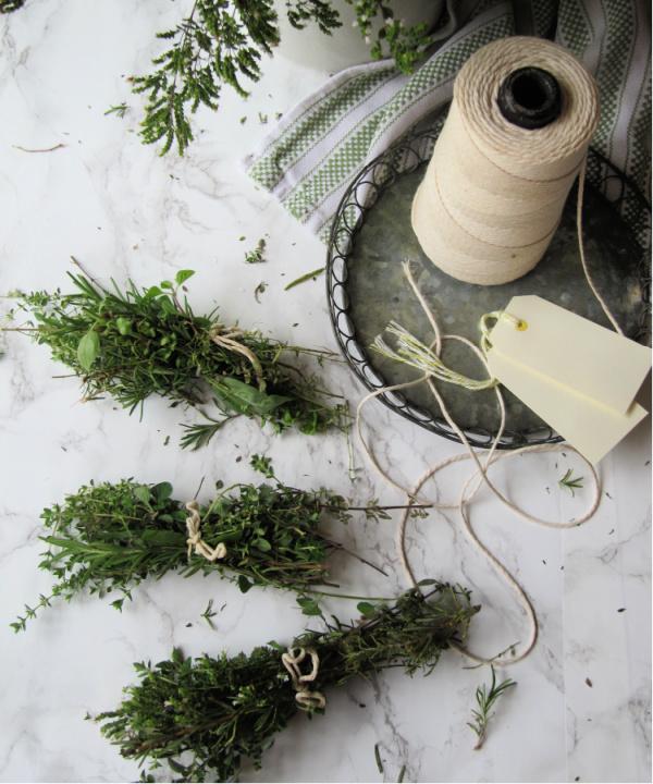 Fresh-herb-bundles