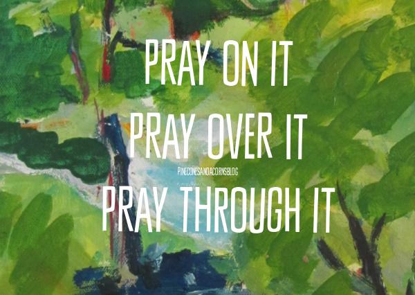 Pray-on-it