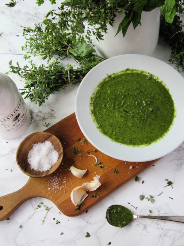 Spicy Herb Sauce