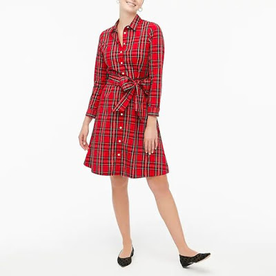 Plaid Dress J. Crew