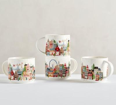 Pottery Barn Mugs