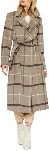 Plaid Coat