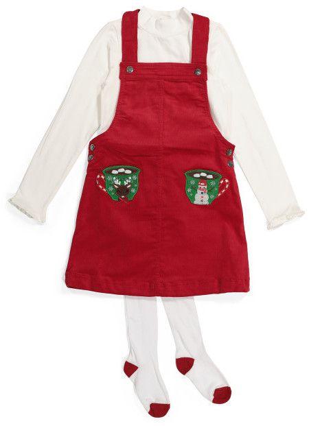 Little Girls Christmas Dress