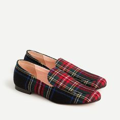 Stewart Plaid Slippers