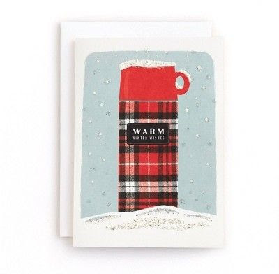 Minted Plaid Thermos Cards