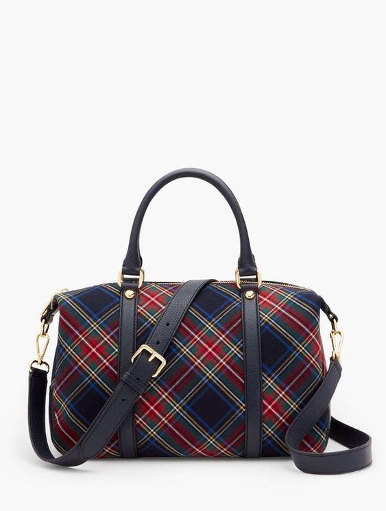 Plaid Handbag