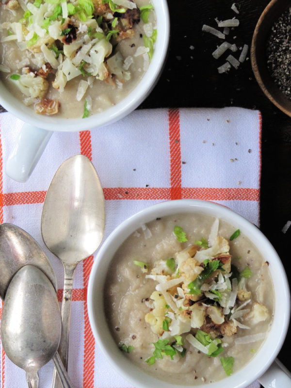 Creamy Chicken and Leek Soup
