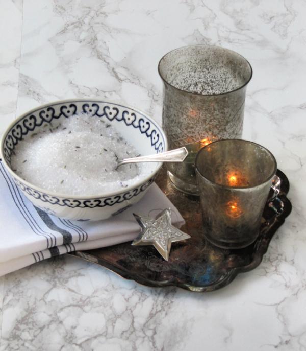 Lavender scented epsom salts