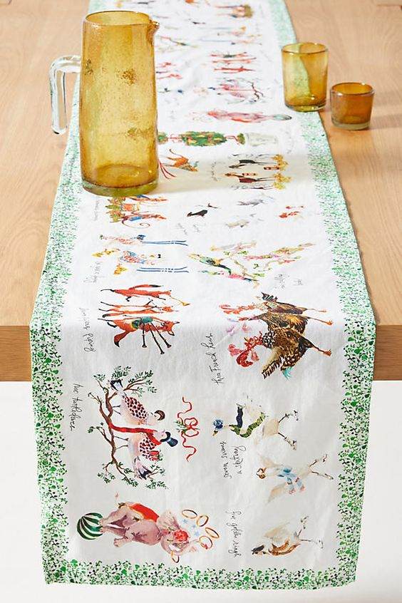 Anthropologie Table Runner