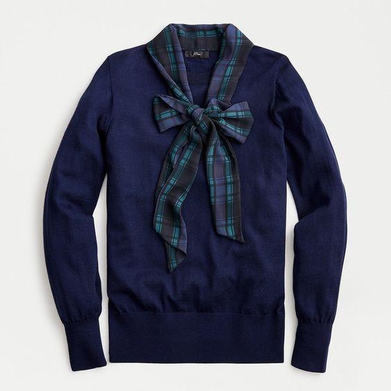 Blackwatch Plaid Sweater