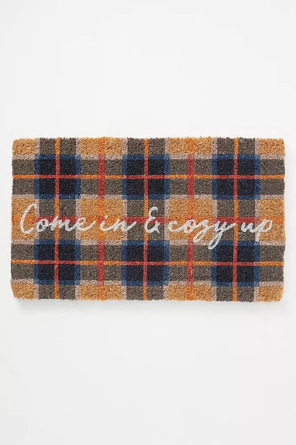 Come In and Cosy Up Door Mat