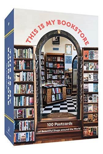 post cards of bookshops