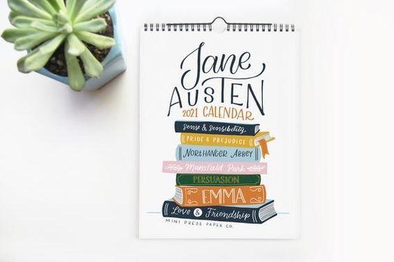 Jane Austen calender