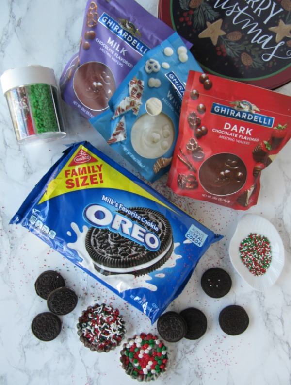 Chocolate Covered Oreo Ingredients