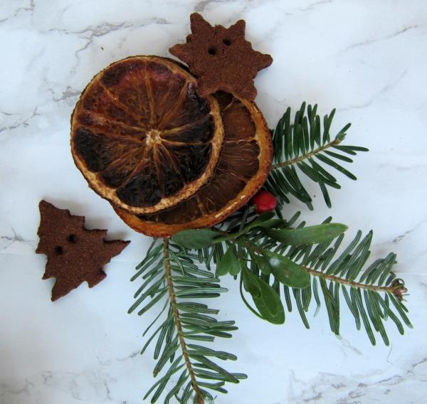 dried orange slices cinnamon ornaments