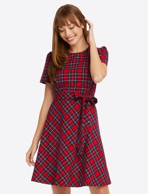 Plaid Dress Draper James