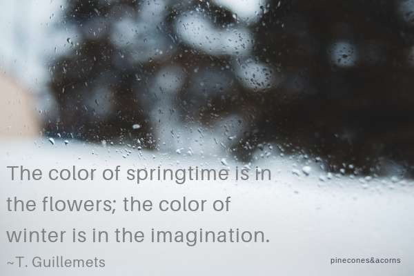 Quote about winter