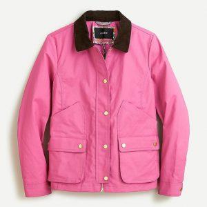 Pink Barn Coat