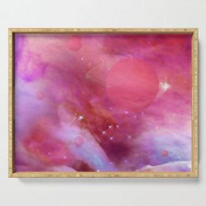 shades of pink tray
