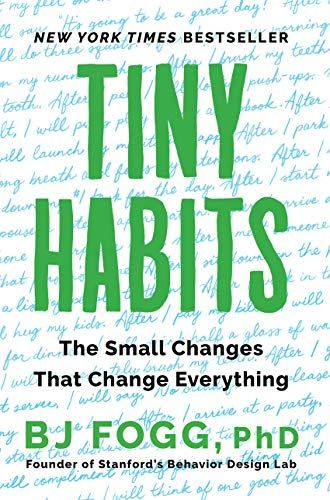 Cover of the Book Tiny Habits