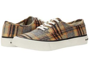 plaid tennie shoes