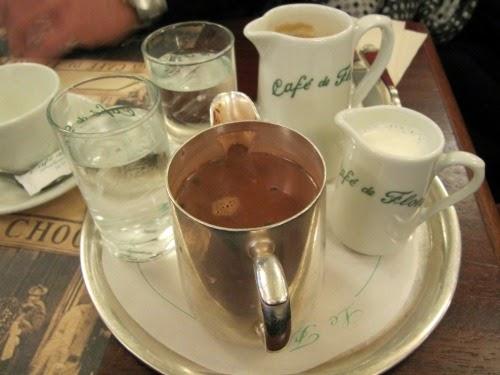 Cafe de Flor Chocolate Paris