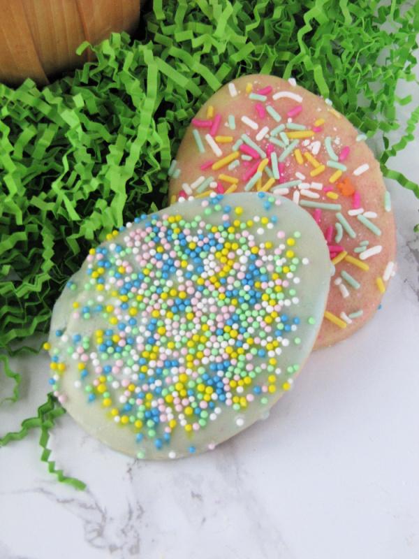 easter cookies with sprinkles