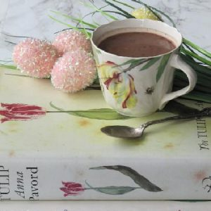 tulip book ana pavard and cup of chocolate-2