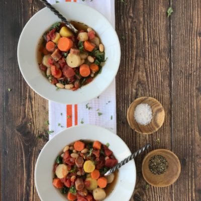 Tuscan carrot soup