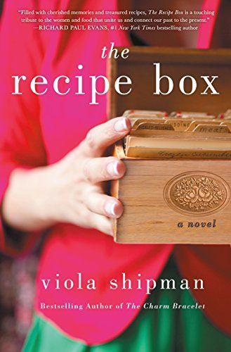 Book cover of the recipe box