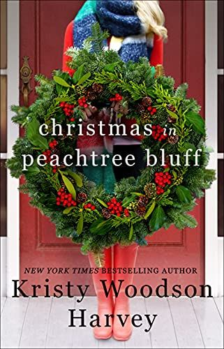 book cover of Christmas in Peachtree Bluff Kritsy Woodson Harvey